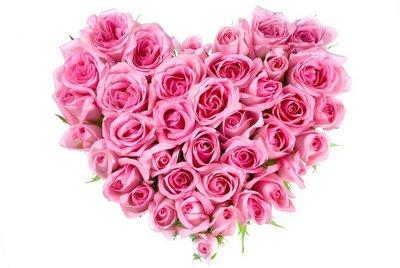 Pixerstick para Todas las Superficies Rose In Love Shape