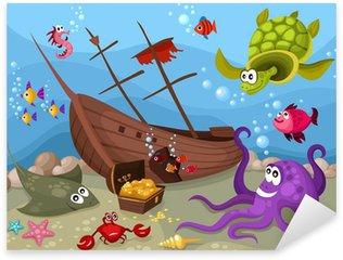 Pixerstick para Todas las Superficies Sea life
