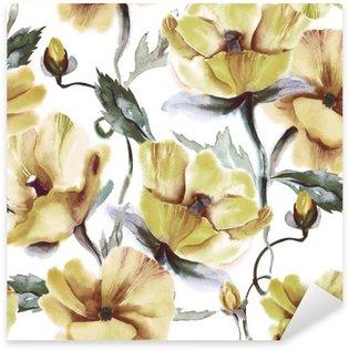 Vinilo Pixerstick Seamless floral