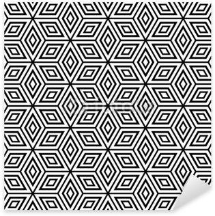 Vinilo Pixerstick Seamless patrón geométrico