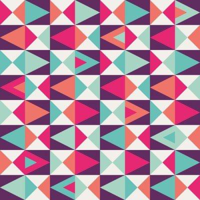 Pixerstick para Todas las Superficies Seamless patrón geométrico