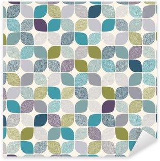 Vinilo Pixerstick Sin fisuras patrón de puntos abstracta