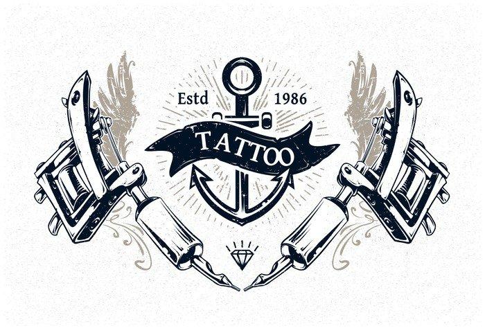 vinilo pixerstick tattoo studio poster texturas