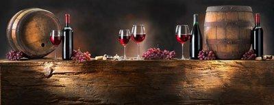 Pixerstick para Todas las Superficies Todavía la vida con vino tinto con cuerpo de madera vieja