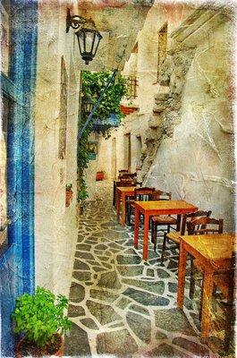 Pixerstick para Todas las Superficies Tradicional griego tabernas-artístico imagen