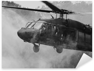 Vinilo Pixerstick UH-60 Blackhawk Helicóptero