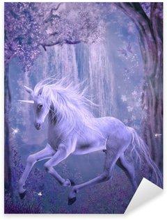 Vinilo Pixerstick Último unicornio