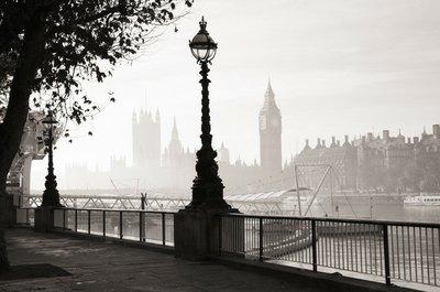 Pixerstick para Todas las Superficies Una densa niebla golpea Londres