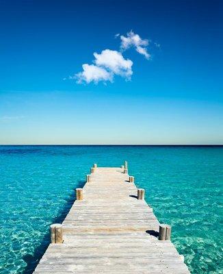Pixerstick para Todas las Superficies Vacances plage ponton bois