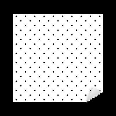 Vinilo pixerstick vector patr n azulejos de lunares negro for Azulejos pvc autoadhesivos
