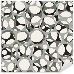 Vinilo Pixerstick Vector sin patrón. Moderna y elegante de la textura 3d de la malla.