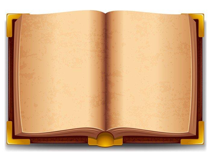 Vinilo Pixerstick Viejo Libro Abierto • Pixers