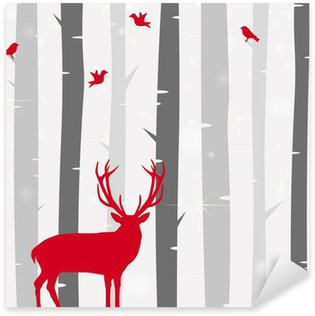 Pixerstick para Todas las Superficies Weihnachtskarte
