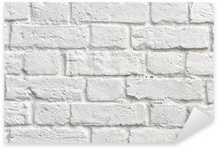 Pixerstick para Todas las Superficies White brick wall
