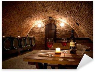 Pixerstick para Todas las Superficies Wine cellar