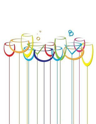 abstract drink background alcohol wine glasses