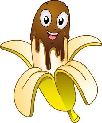 Banana Choco Mascot