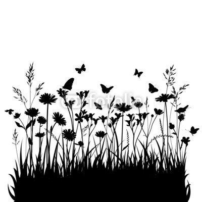 Blumenwiese Vektor