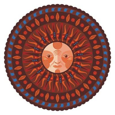 Decorative Fall Mandala