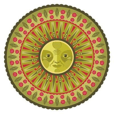 Decorative Spring Mandala