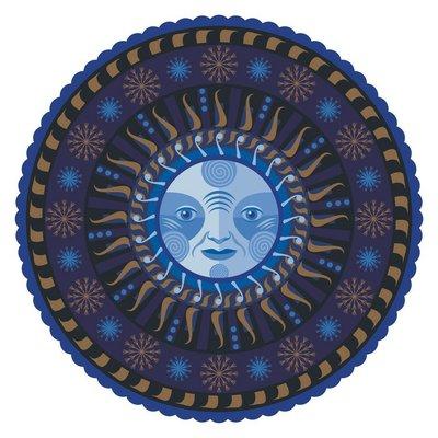 Decorative Winter Mandala
