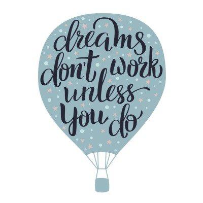 Dreams lettering