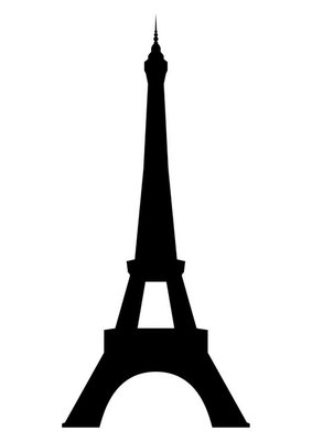 Eiffel tower in Paris. Vector EPS10.
