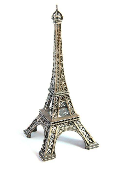 Eiffel Tower Souvenir Figure Famous French Landmark Wall Decal - Wall decals eiffel tower