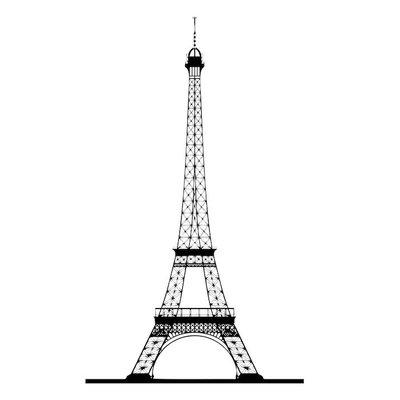 Eiffelturm Silhouette Vektor