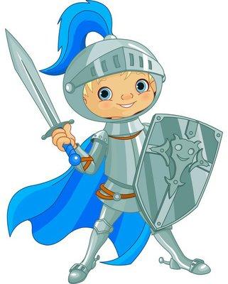 Fighting Brave Knight