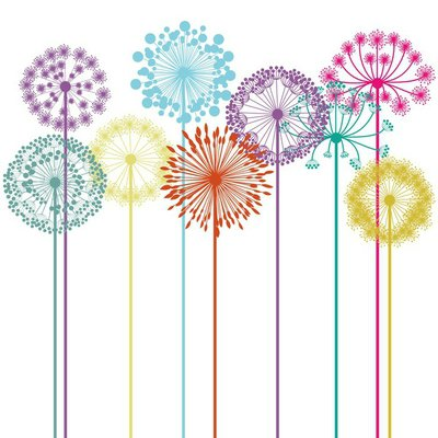 Wall Decal flowers design