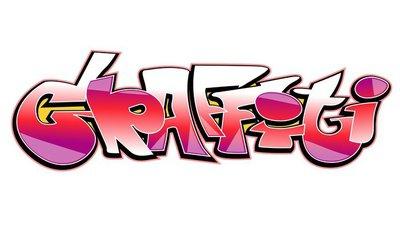 Graffiti vector design.