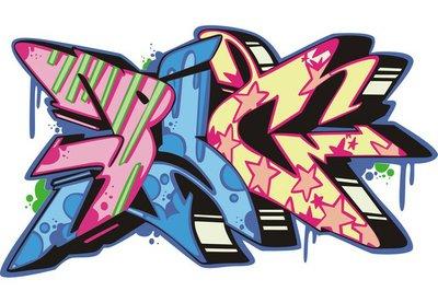 Graffito - pig