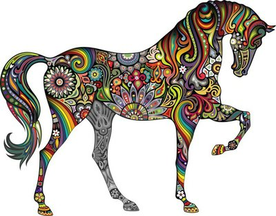 Horse and Rainbow