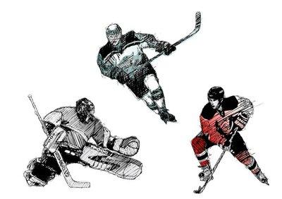 ice hockey tiro