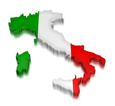 Italy (clipping path included)