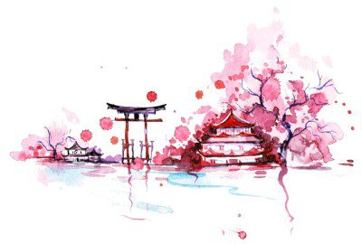 Wall Decal Japan