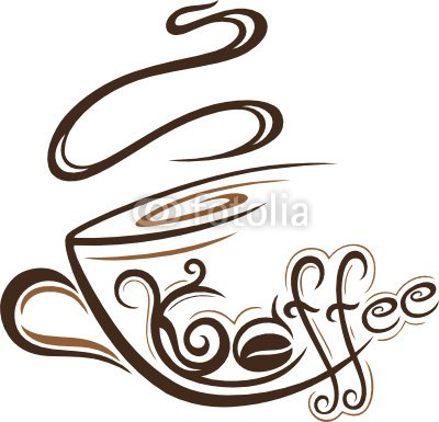Kaffee, coffee, Kaffeetasse, design element, logo
