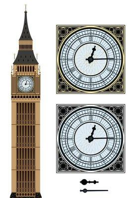 Landmark Big Ben and the clock