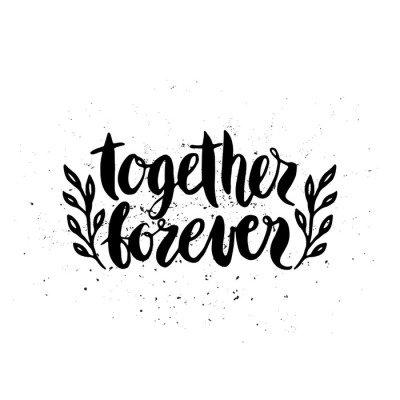 Lettering Together Forever