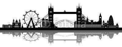 London Skyline detailed