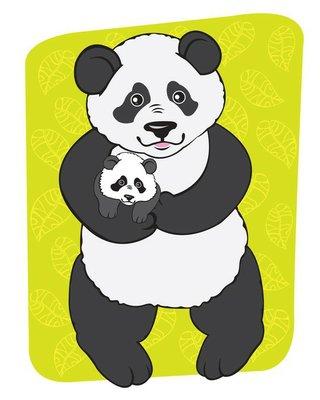 Mom panda