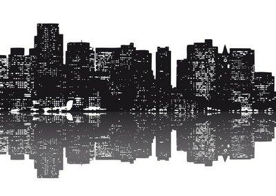 New York Skyline abstrakt