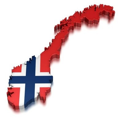 Norway (clipping path included)