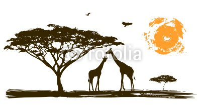 Paysage africain