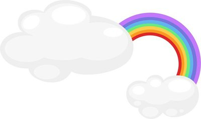 rainbow icon vector illustration