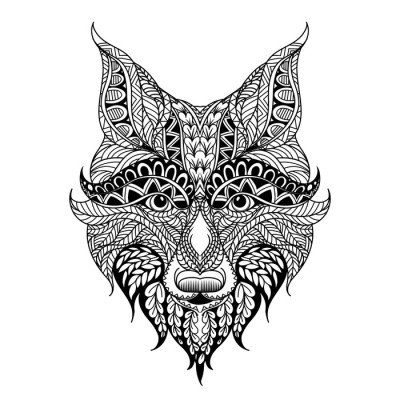 Wall Decal red fox