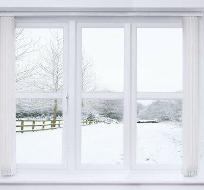 Snow Scene Window