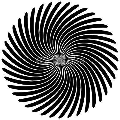 Spirale rund