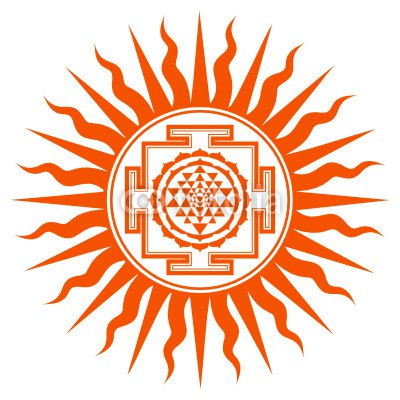 Spiritual Shree Yantra Design